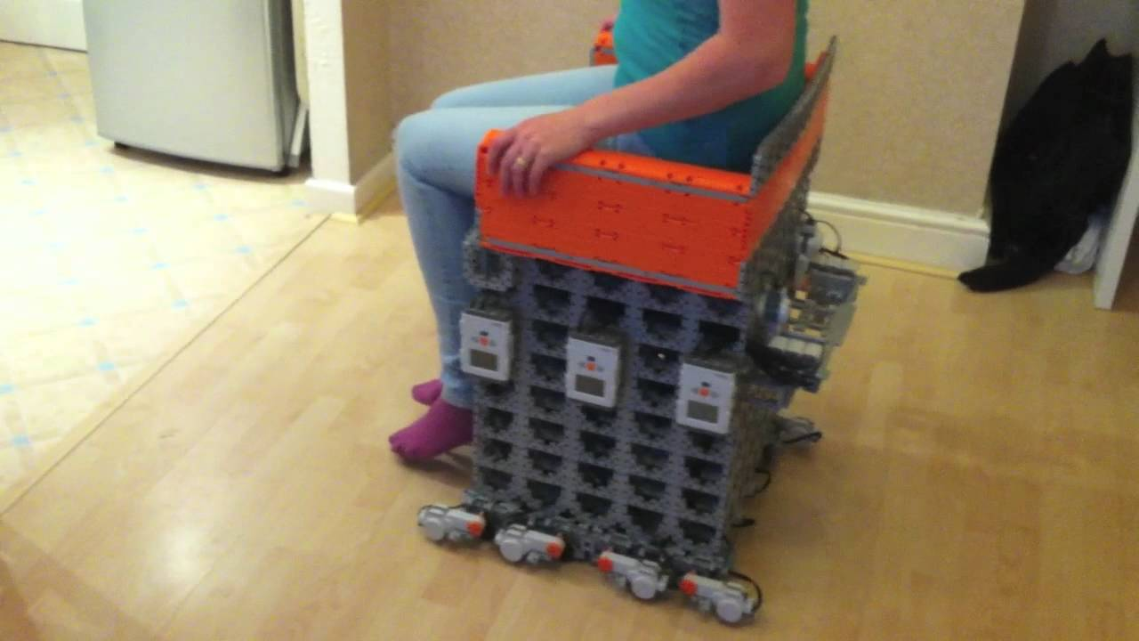 World's First Electric Lego Wheelchair Can Support 90kg