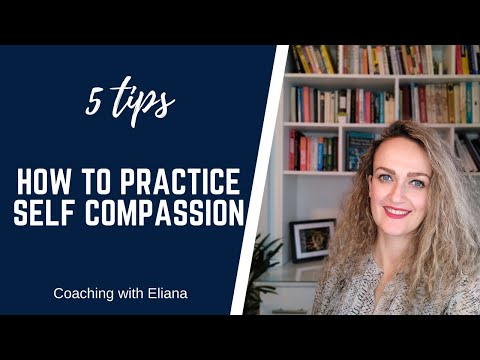 Self compassion is an essential skill to master if we want to live a happier life. It can help us become more confident, have more self worth, let go of negative thoughts and facing hard times with more ease.   In this video I share with you 5 practical t