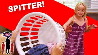 Supernanny   Kid Spits On Her Older Sister And Gets Away With It!