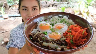 Yummy cooking rice beef with egg recipe - Cooking skill