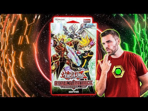 *NEW* YuGiOh POWERCODE LINK Structure Deck Opening & Review!