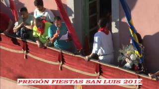 preview picture of video 'Fiestas San Luis 2012'