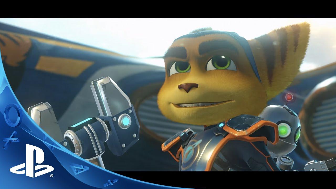 Ratchet & Clank PS4 Trailer Shows Ship Combat, Underwater Gameplay