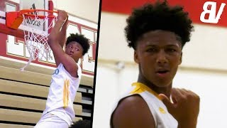 #1 8th Grader Mikey Williams Plays Against VARSITY High School Players! DUNKS & Shows Off RANGE!