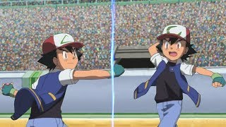 Pokémon Battle USUM: Kanto Ash Vs Johto Ash (Pokemon Sinnoh League)