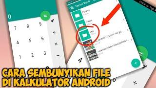 Cara Menyembunyikan File (Foto, Video, Audio) di Kalkulator Android