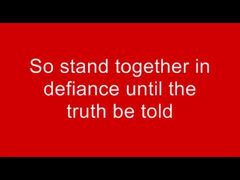Hillsborough Disaster Tribute Song - ALWAYS ON OUR MINDS (A SONG FOR THE 96). NEW/FINAL VERSION!
