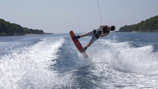 Wakeboard Tutorial - HS Back Roll