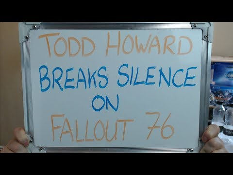 TODD HOWARD Breaks His Silence on FALLOUT 76 (And LIES) !!