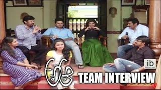 A Aa team interview | Nithin | Samantha | Anupama Parameshwaran | Ravu Ramesh