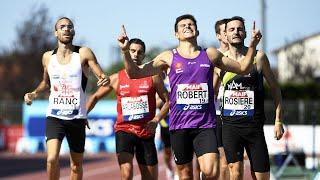 Albi 2020 : Finale 800 m F (Benjamin Robert en 1'48''68)