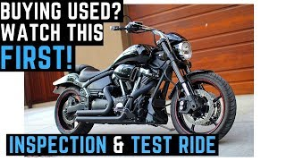 How To Buy a Used Motorcycle: Inspection & Test Ride, Craigslist, Tips for Buying Used Bikes
