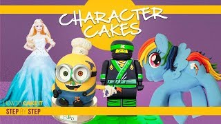 Amazing Character Cakes Compilation  | My Little Pony, Minion, Barbie, Ninjago | How To Cake It
