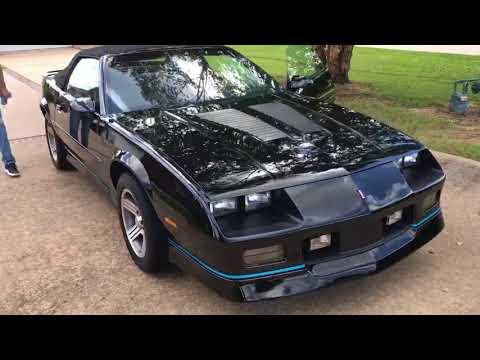 Video of '88 Camaro IROC Z28 - OJ1P