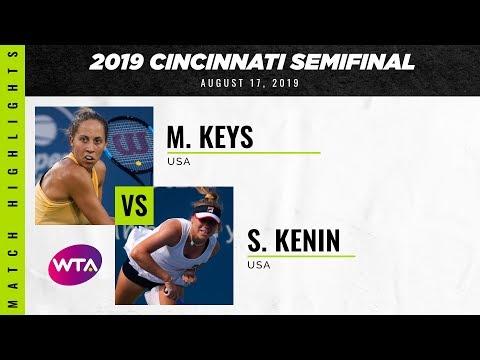 Madison Keys vs. Sofia Kenin  | 2019 Western & Southern Open Semifinal | WTA Highlights