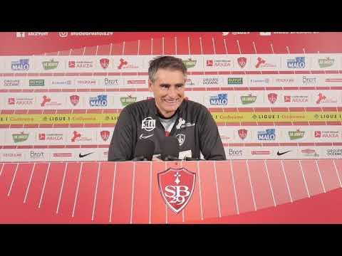 Nice - Brest : Conférence de presse d'avant-match
