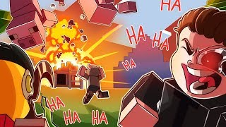 WE PRANKED WILDCAT AND BLEW UP HIS MANSION!