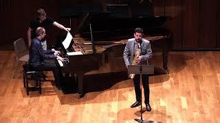 Rapsodia Andaluza. Santi Baez. Para saxofón tenor y piano. Antonio Jesús Hernández