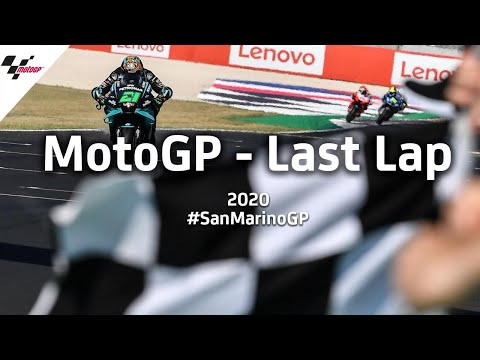 【決勝ハイライト】MotoGP サンマリノGP 最終ラップの激しいバトルを収めたラストラップ映像