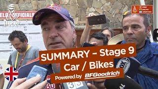 Summary - Car/Bike - Stage 9 (Tupiza / Salta) - Dakar 2018