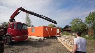 VIDEO – Assembly of a Prefab House