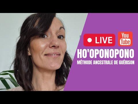 YouTube Live : Ho'oponopono, méthode ancestrale de guérison