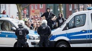 Autonome Und Polizei: Auseinandersetzungen Bei Neonazi Demo In Dortmund
