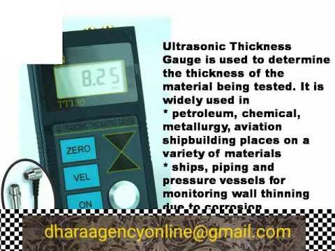 Tt100 Ultrasonic Thickness Gauge