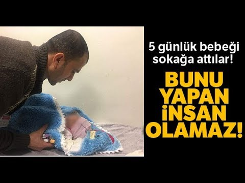 Siirt'te 5 Günlük Bebeği Sokağa Attılar