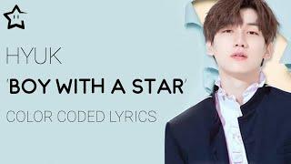 Gambar cover HYUK (혁) (VIXX (빅스)) — Boy With a Star LEGENDADO (Han┊Rom┊Eng┊PT-BR)