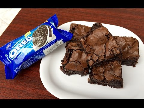 Fudgy Oreo Brownies   Kitchen Time with Neha
