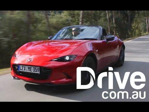 Mazda MX-5 First Drive Review | Drive.com.au