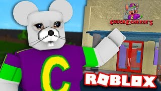 I opened a CHUCK E. CHEESE in BLOXBURG... here's what happened