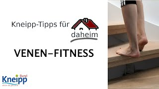 Video Venen-Fitness - Kneipp-Tipps für daheim Teil 3 abspielen