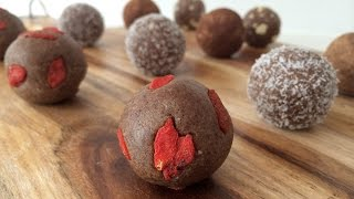 PROTEIN BALL HEALTH FRAUD How To Cook That protein bar recipe