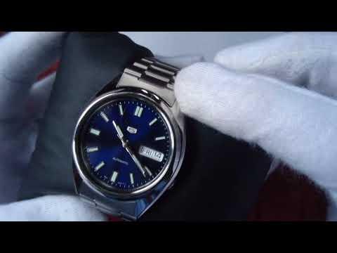 Kurzpräsentation: Seiko 5 SNXS77K (Short Review) (4K Ultra HD)