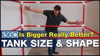Ep.6 - Big Tanks, what's the right size & shape for an epic multi-hundred gallon reef tank? | BRS360