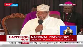 Intercession prayers of 'forgiveness' during National Prayer day