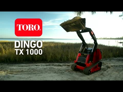 Dingo TX 1000 Efficiency and Maintenance