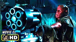 HELLBOY II (2008) Hellboy Vs. Elemental Forest God [HD]
