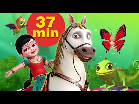 Our Animal Friends Bengali Kids Cartoon Video   Bengali Rhymes and Kids Songs   Infobells