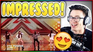 4th Power Raise The Roof With Jessie J hit X Factor UK Reaction