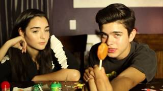 TRYING MEXICAN CANDY WITH INDIANA MASSARA AND JAY ULLOA