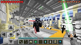 HOW TO PLAY STAR WARS in MINECRAFT! (MCPE Mods)