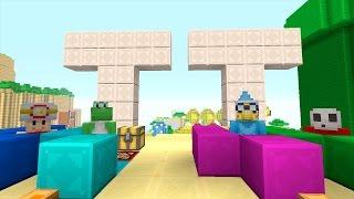 Minecraft Wii U - Super Mario Series - Tripolar Trivia [137]