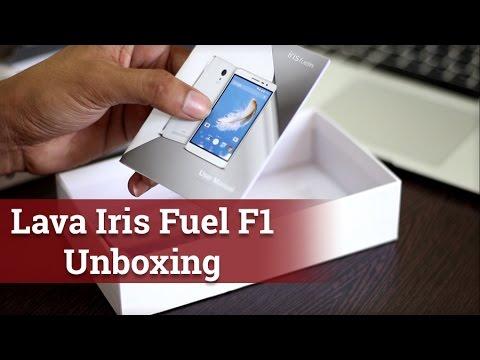 Lava Iris Fuel F1 Unboxing