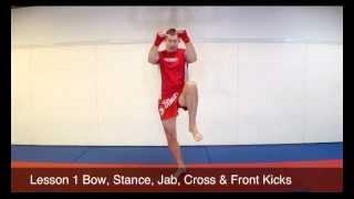 Muay Thai Lesson 1