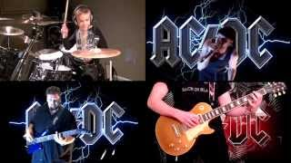 'BACK IN BLACK' by AC/DC **WORLDWIDE COLLAB** Performed by Karl, Avery, Luke & Lee