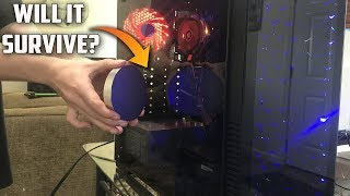 Worlds Most Powerful Magnet Vs Worlds Most Powerful PC