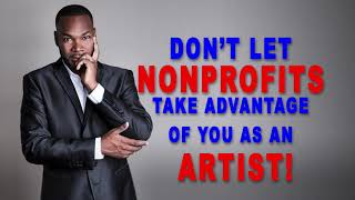 Nonprofit Organizations and Artists
